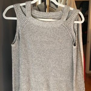 hollister grey sweater